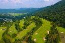 【ふるさと納税】加舎の里カントリー 平日昼食付ゴルフプレー1組4名様無料招待券
