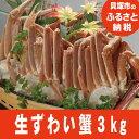 [ふるさと納税]R35P 生ずわい蟹どーんと3kg