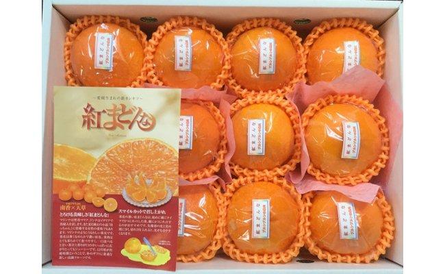 [ふるさと納税]R175I【高級柑橘】紅まどんな糖度12度化粧箱入り