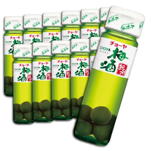 【ふるさと納税】チョーヤ梅酒 紀州(梅の実入り) 720ml瓶×12本 14度