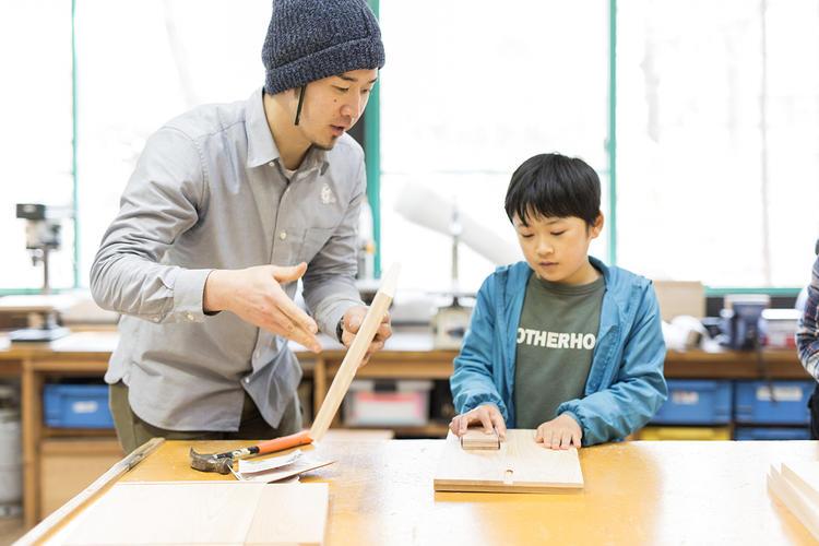 【ふるさと納税】ランチとランチョンマットお土産付き・ペア木工体験