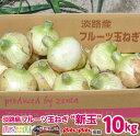 【ふるさと納税】【10kg】フルーツ玉ねぎ【新玉】