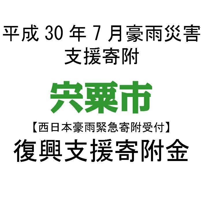 【ふるさと納税】【西日本豪雨緊急寄附受付】【返礼品なし】宍粟市復興支援寄附金
