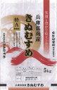 【ふるさと納税】KA-03 兵庫県南産きぬむすめ 5kg