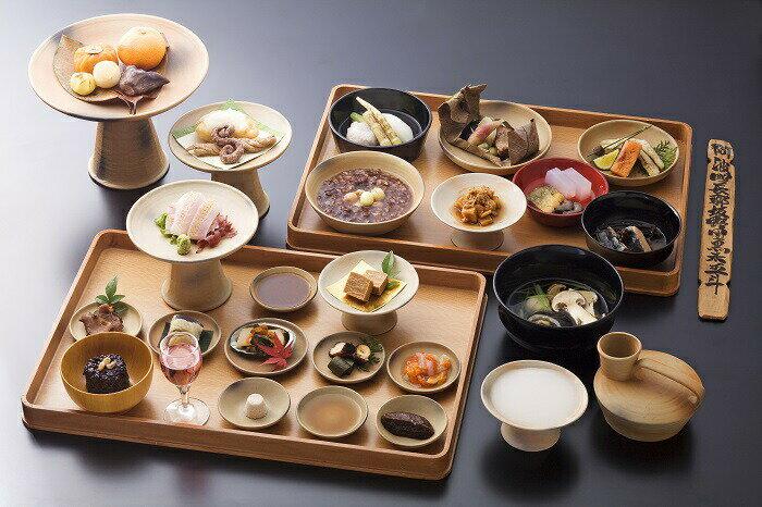 【ふるさと納税】F-09 宮廷料理 天平の宴ペア食事券
