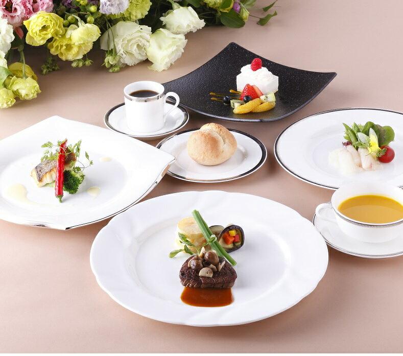 【ふるさと納税】G-01奈良ホテルのフレンチフルコースペアランチ券(メインダイニングルーム三笠)