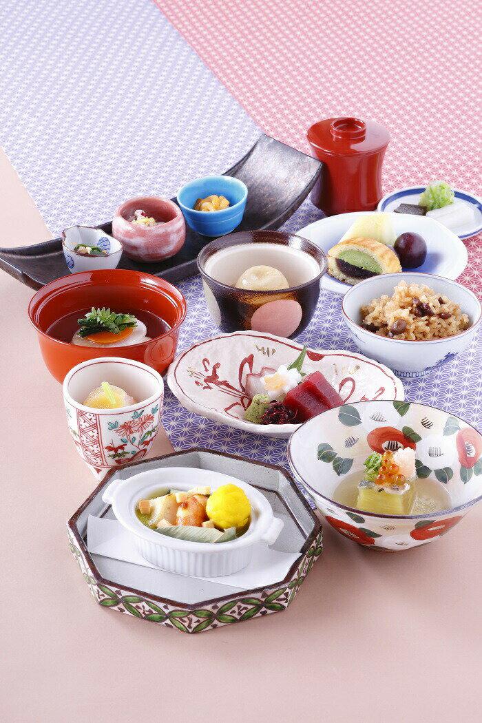 【ふるさと納税】G-45 奈良ホテル まほろば会席ペアランチ券(和食レストラン花菊)