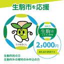 【ふるさと納税】生駒市を応援 (返礼品なし) 2000円 寄附のみ申込みの方