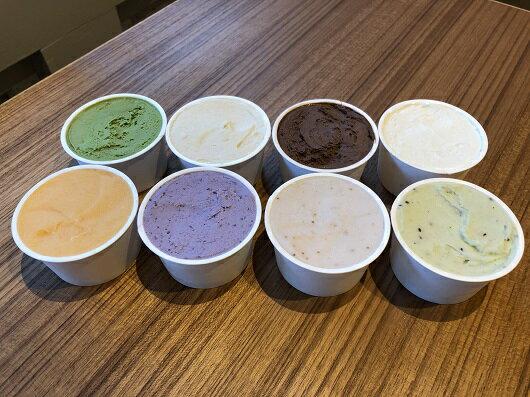 ふるさと納税(冷凍)奈良県産の旬の食材ジェラートおまかせ詰め合わせ16個セット/奈良県特産スイーツジ