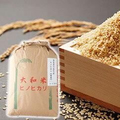 【ふるさと納税】奈良県川西町産ヒノヒカリ(玄米30kg)