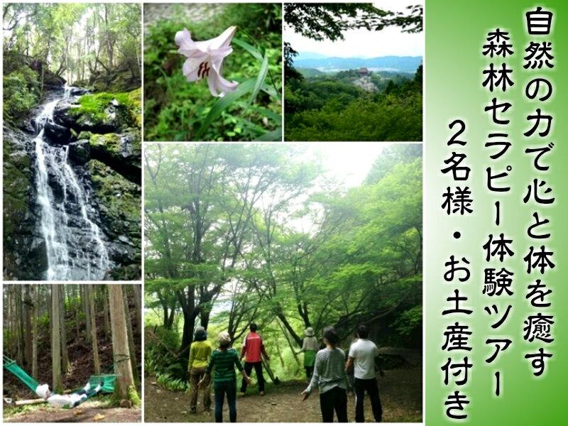 【ふるさと納税】吉野町森林セラピー体験ツアー【ペアチケット】