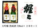 【ふるさと納税】大吟醸 熟成酒 720ml 2点