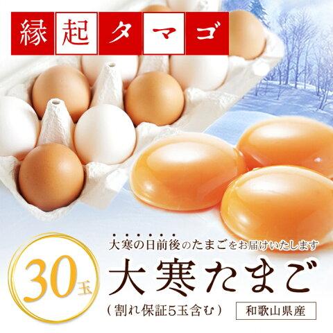 【ふるさと納税】 大寒たまご(新春開運グルメ) これであなたも金運・健康運UP?