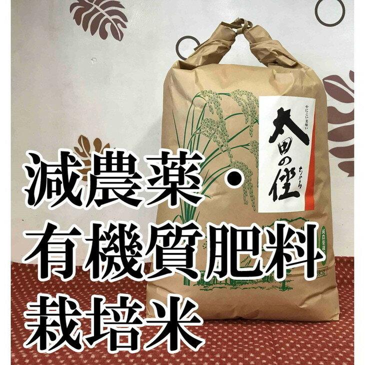 【ふるさと納税】【平成30年産新米】減農薬栽培・有機質肥料栽培コシヒカリ『太田のちから』 7kg