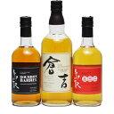 【ふるさと納税】鳥取県のウイスキー 3本セット