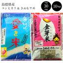 【ふるさと納税】BG無洗米10kg 米 無洗米 島根県 BG...