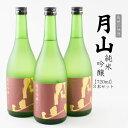 【ふるさと納税】月山 純米吟醸 720ml×3本セット 島根...