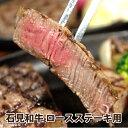 【ふるさと納税】石見和牛(黒毛和牛) ロースステーキ用