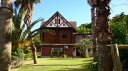 【ふるさと納税】【6−02】島宿三虎ログハウス1泊2食付ペア...