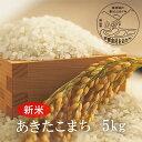 【ふるさと納税】<令和3年産・新米>G33おおがや米 あきたこまち 白米5kg