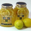 【ふるさと納税】瀬戸田レモン蜂蜜シロップ漬セット
