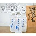 【ふるさと納税】美湯の天然水 500ml×24本【12024...