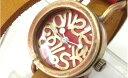 【ふるさと納税】HR24の手造り時計B(女性用)黄茶(からし色) 【ファッション/アクセサリー/その...