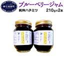 【ふるさと納税】ブルーベリー ジャム N-80D (純粋ハチ...