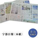 【ふるさと納税】J201宇部日報 (本紙) <1ヶ月お届け>