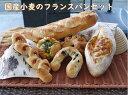 【ふるさと納税】国産小麦のフランスパンセット(A-31)