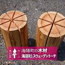 【ふるさと納税】KKI03 海部杉 スウェーデントーチ(着火木材) ウッドキャン
