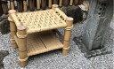 【ふるさと納税】【竹工芸品】竹とい草の椅子 【インテリア・家...