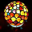 【ふるさと納税】ヒオウギ貝ランプシェード(球形) 【インテリア・雑貨・日用品・インテリア】