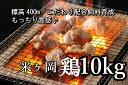 【ふるさと納税】kan003a ドカンと10kg!!もっちり食感♪こだわり配合飼料育成!米ヶ岡鶏満喫...
