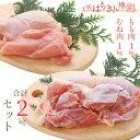 ショッピング日本一 【ふるさと納税】臭みも少なくやわらかな土佐はちきん地鶏モモ肉1kg+むね肉1kgセット【送料無料】
