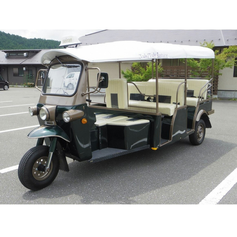 【ふるさと納税】トゥクトゥクのーんびりレンタカー(8時間)