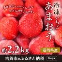 【ふるさと納税】冷凍いちご(あまおう)約2.2kg ジャム ...