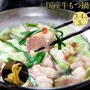 【ふるさと納税】もつ鍋(3〜4人前×3セット)特選「鶏家」の...