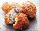 【ふるさと納税】人気商品!糸島の牡蠣クリームコロッケと牛コロッケ6個セット