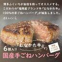 【ふるさと納税】YB20.福岡産ブランド牛の国産手ごねハンバ...