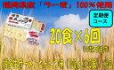 【ふるさと納税】H004.【定期便】博多生ラーメンとんこつ味(100g×20食)×6回