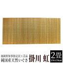 【ふるさと納税】純国産天然いぐさ 「掛川 虹」2畳(黄色) 02-CA-4501r