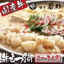 【ふるさと納税】F61-01 博多若杉 牛もつ鍋(2〜3人前)...