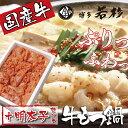【ふるさと納税】F61-04 博多若杉 牛もつ鍋(2〜3人前...
