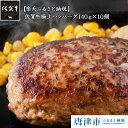 【ふるさと納税】佐賀牛極上ハンバーグ140g×10個 【楽天...