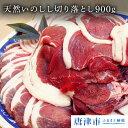 【ふるさと納税】天然いのしし肉切り落とし 900g