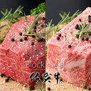 【ふるさと納税】佐賀牛プロ用ブロック肉(ロース350g、モモ肉350g) 佐賀牛 食べ比べ 牛ロース...