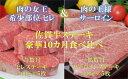 【ふるさと納税】S-007 佐賀牛ステーキ豪華10カ月食べ比べ
