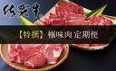【ふるさと納税】【特撰】佐賀牛・県産和牛 極味肉定期便