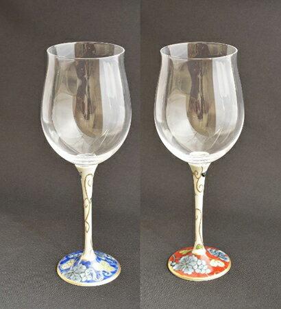 【ふるさと納税】 有田浪漫 ハイレッグワイングラス(小)ペアセット 【陶磁器】